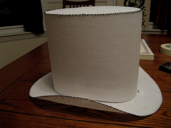 step by step guide to making your very own top hat